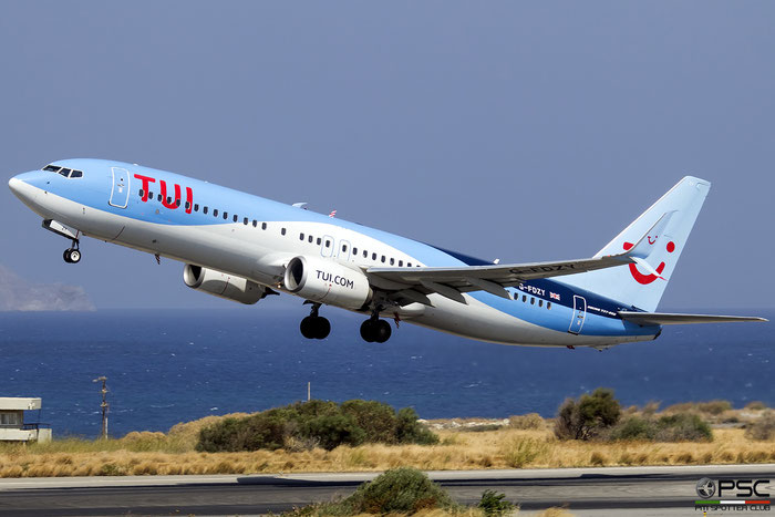G-FDZY  B737-8K5  37261/3844  TUI Airways @ Heraklion 2019 © Piti Spotter Club Verona