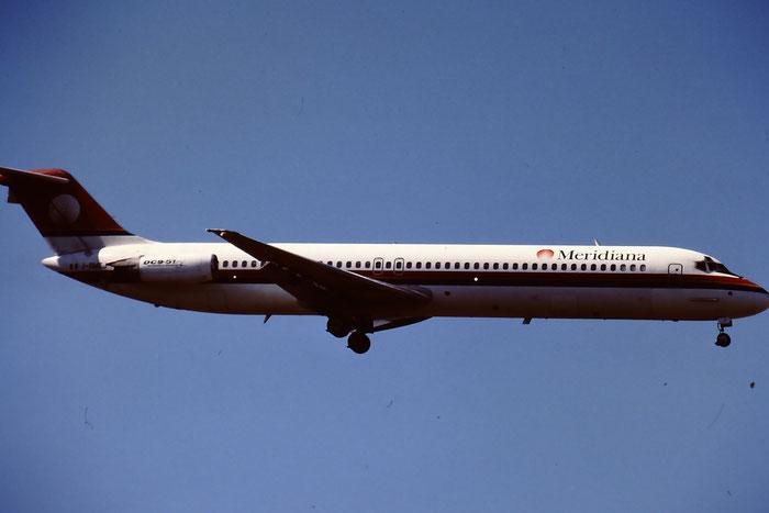 I-SMEJ  DC-9-51  47657/787  Meridiana  @ Aeroporto di Verona © Piti Spotter Club Verona