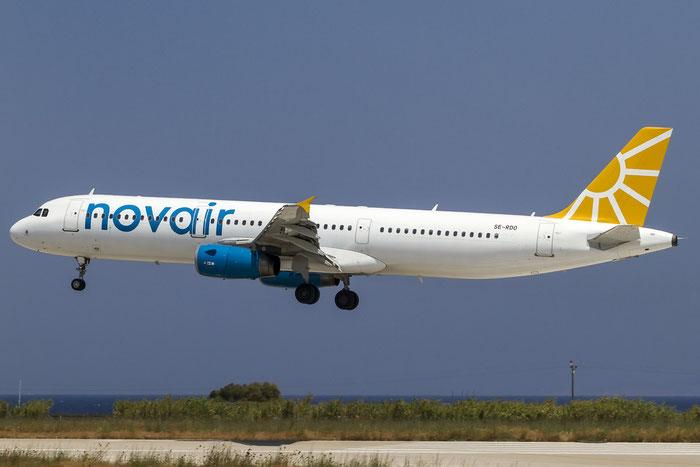 SE-RDO A321-231 2216 Novair @ Rhodes Airport 08.07.2015 © Piti Spotter Club Verona