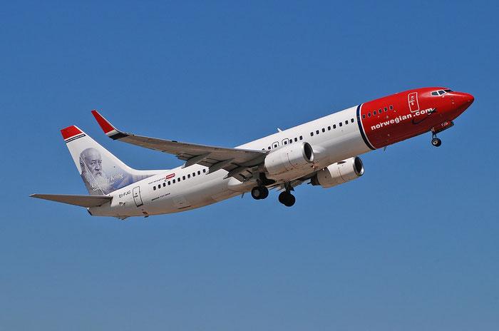 EI-FJG B737-8JP 37818/3384 Norwegian @ Aeroporto di Verona 25.06.2018  © Piti Spotter Club Verona