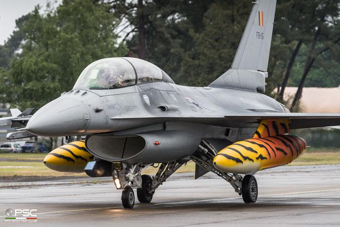 FB15   F-16BM  6J-15  10w © Piti Spotter Club Verona