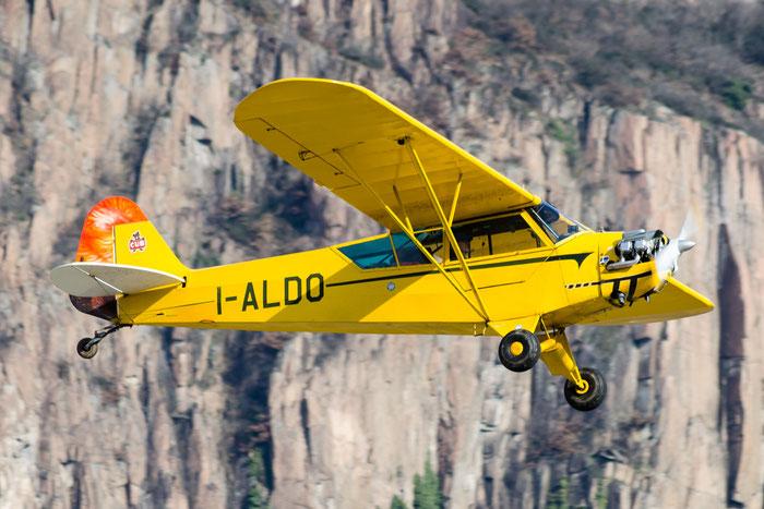 I-ALDO - Piper J3C/65 c/n 13071 - Private @ Aeroporto di Bolzano © Piti Spotter Club Verona