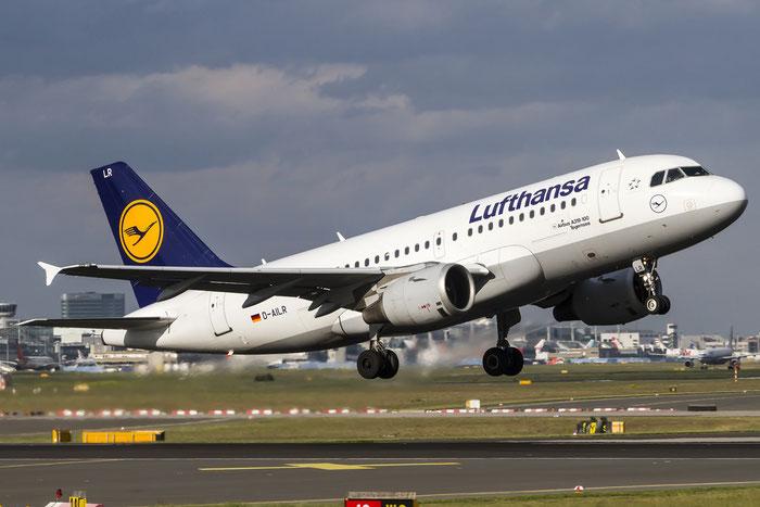 D-AILR A319-114 723 Lufthansa @ Frankfurt Airport 08.05.2015 © Piti Spotter Club Verona