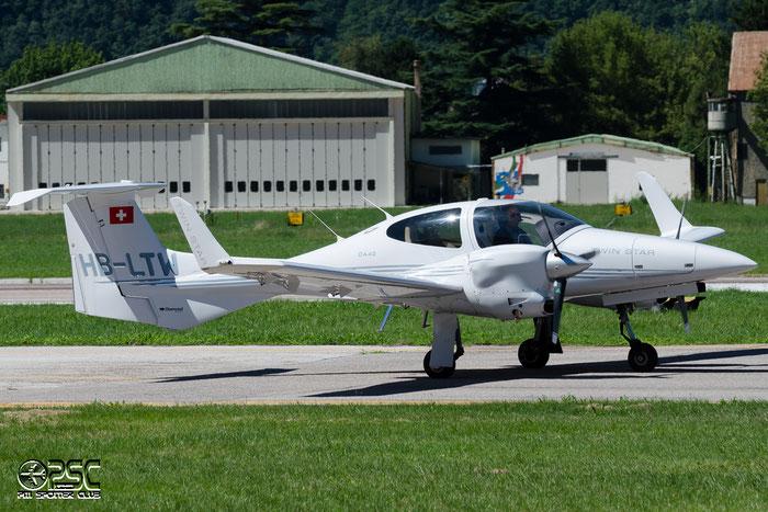 HB-LTW Diamond Aircraft Industries DA-42 Twin Star DA42 @ Aeroporto di Bolzano © Piti Spotter Club Verona
