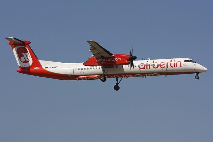 D-ABQF DHC-8-402 4245 Air Berlin @ Bologna Airport 14.07.2012 © Piti Spotter Club Verona