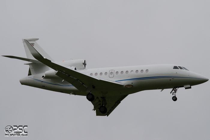 G-YCKF Falcon 900LX 256 Execujet (UK) Ltd. @ Aeroporto di Bolzano © Piti Spotter Club Verona