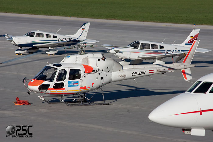 OE-XNN Aerospatiale AS355E TwinStar Serial 5096 @ Innsbruck Airport 26.10.2013 © Piti Spotter Club Verona