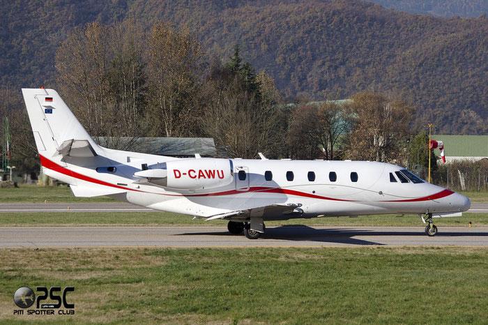 D-CAWU Ce560XLS 560-5797 A. Wurth & Co. KG @ Aeroporto di Bolzano © Piti Spotter Club Verona