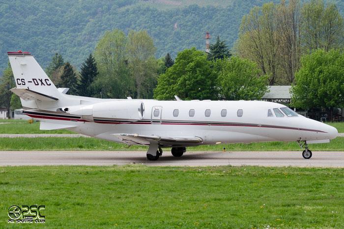 CS-DXC Ce560XLS 560-5559 NetJets Europe @ Aeroporto di Bolzano © Piti Spotter Club Verona