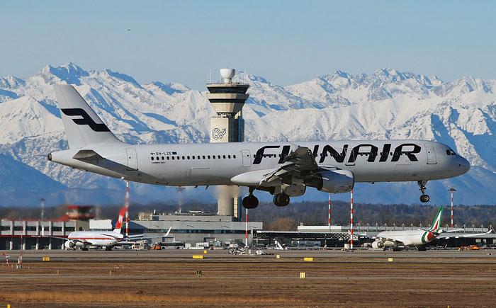 OH-LZE A321-211 1978 Finnair @ Milano Malpensa Airport 29.12.2017 © Piti Spotter Club Verona