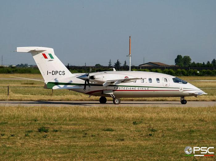 I-DPCS P180 1033 Dipartimento della Protezione Civile-It. Min. of Civ. Prot. @ Aeroporto di Verona 19.05.2007 © Piti Spotter Club Verona