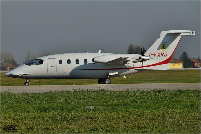 I-FXRJ P180 1178 K-Air @ Bologna Airport1 06.12.2013 © Piti Spotter Club Verona