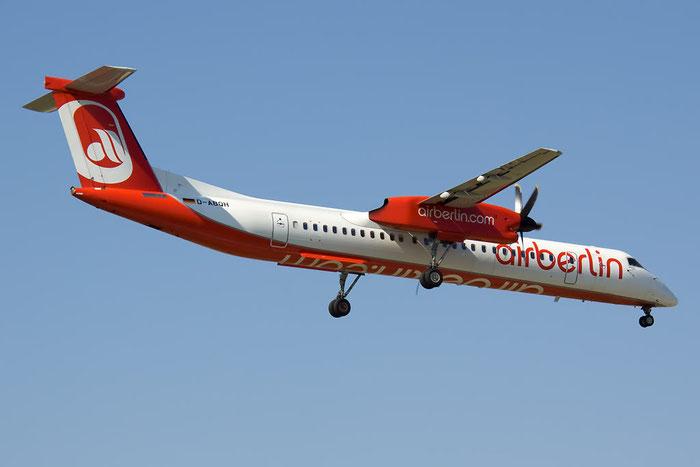D-ABQH DHC-8-402 4256 Air Berlin @ Rimini Airport 20.08.2011 © Piti Spotter Club Verona