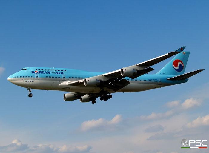 HL7460 B747-4B5 26404/1107 Korean Air @ London Heathrow Airport 15.04.2008 © Piti Spotter Club Verona