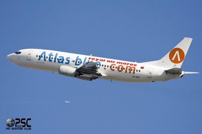 CN-RNA B737-4B6 26531/2453 Atlas Blue @ Milano Malpensa Airport 12.2007 © Piti Spotter Club Verona