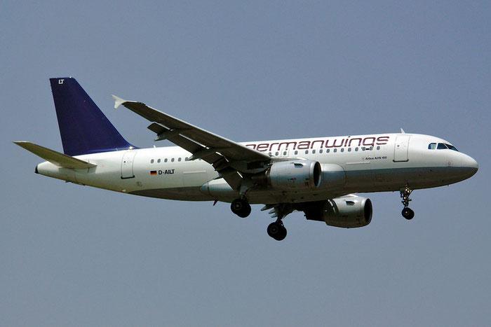 D-AILT A319-114 738  Germanwings @ Aeroporto di Verona © Piti Spotter Club Verona