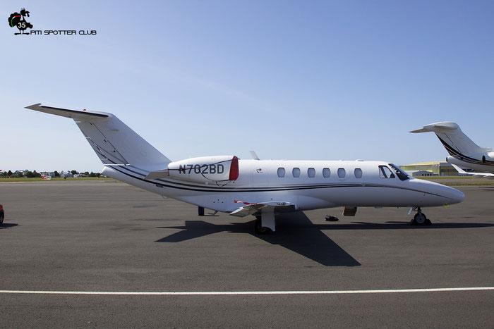 N702BD  Ce525A (CJ2+)  525A-0438  Aircraft Guaranty Corp. @ Reykjavik 08.2019 © Piti Spotter Club Verona