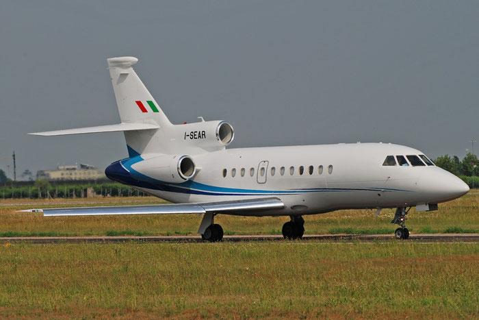 I-SEAR Falcon 900EX-EASy 183 Servizi Aerei SpA @ Aeroporto di Verona 15.06.2017  © Piti Spotter Club Verona