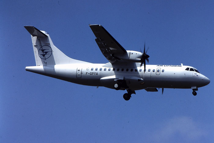 F-GPYA ATR42-500 457 Air Littoral @ Aeroporto di Verona - © Piti Spotter Club Verona