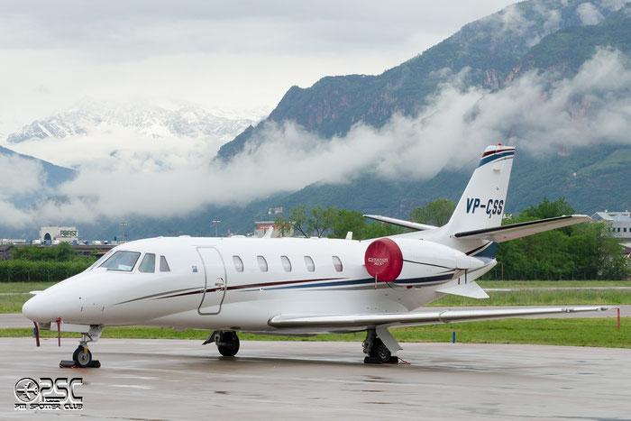 VP-CSS Ce560XLS+ 560-6055 Arab Wings @ Aeroporto di Bolzano © Piti Spotter Club Verona