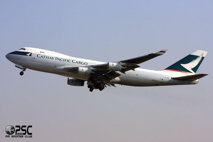 B-HUQ  B747-467F  34150/1356  Cathay Pacific Airways  @ Milano Malpensa 12.2007  © Piti Spotter Club Verona