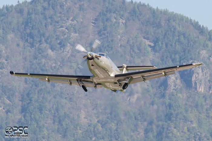 LX-JFV PC-12/47E 1409 Jetfly Aviation @ Aeroporto di Bolzano © Piti Spotter Club Verona
