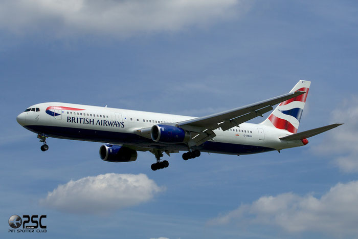 G-BNWV B767-336ER 27140/490 British Airways @ London Heathrow Airport 12.06.2014  © Piti Spotter Club Verona