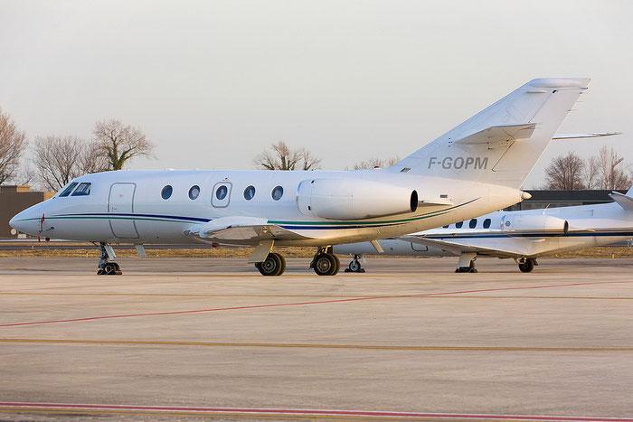 F-GOPM Falcon 20E-5 302/510 Pneus Michelin @ Treviso Airport 28.02.2012 © Piti Spotter Club Verona