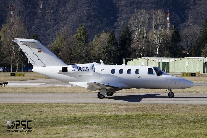 D-IKCS  Ce525  525-0396  PVStrom GmbH & Co KG  @ Aeroporto di Bolzano © Piti Spotter Club Verona