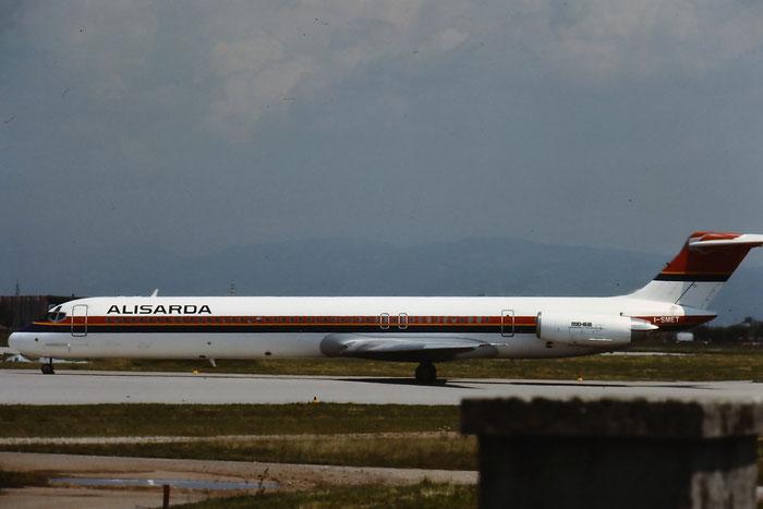 I-SMET  MD-82  49531/1362  Alisarda - Linee Aeree della Sardegna  @ Aeroporto di Verona © Piti Spotter Club Verona