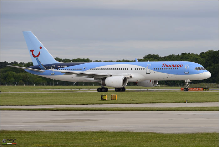 G-OOBA B757-28A 32446/950 Thomson Airways @ Manchester Airport 21.06.2015 © Piti Spotter Club Verona
