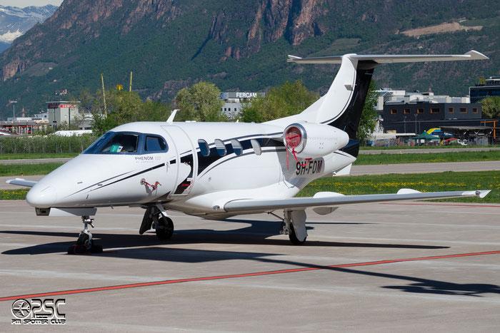 9H-FOM EMB500 50000092 Luxwing Ltd. @ Aeroporto di Bolzano © Piti Spotter Club Verona