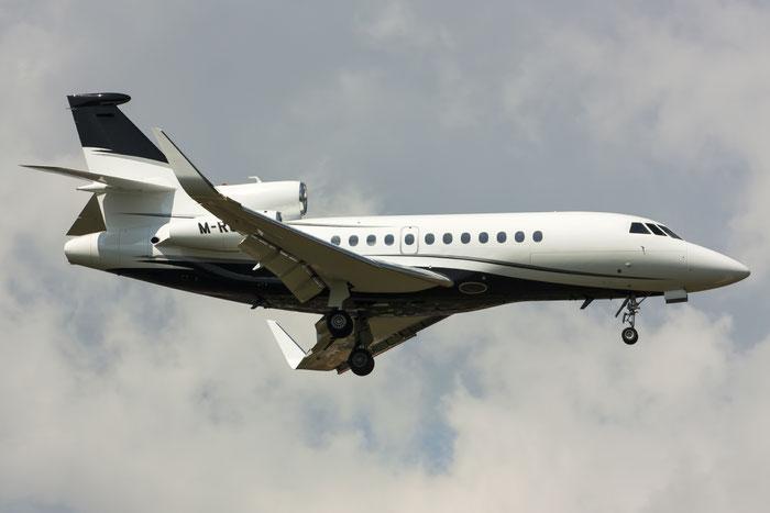 M-ROWL Falcon 900EX-EASy 180 Av8Jet Ltd. @ Treviso Airport 25.08.2013 © Piti Spotter Club Verona