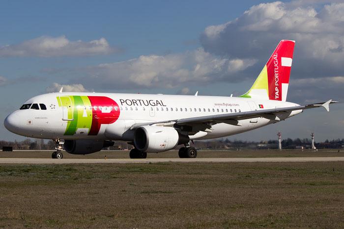 CS-TTR A319-112 1756 TAP Portugal - Transportes Aéreos Portugueses @ Bologna Airport 19.02.2016 © Piti Spotter Club Verona