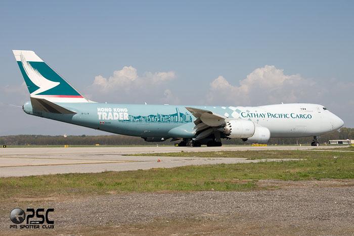 B-LJA  B747-867F  39238/1427  Cathay Pacific Airways  @ Milano Malpensa 06.06.2014 © Piti Spotter Club Verona
