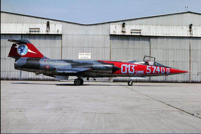 MM6532  3-42  F-104G  6532 @ Aeroporto di Verona © Piti Spotter Club Verona