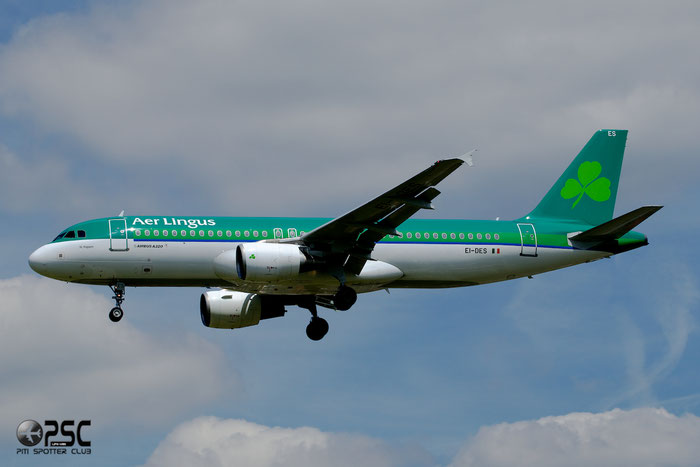 EI-DES A320-214 2635 Aer Lingus @ London Heathrow Airport 12.06.2014  © Piti Spotter Club Verona