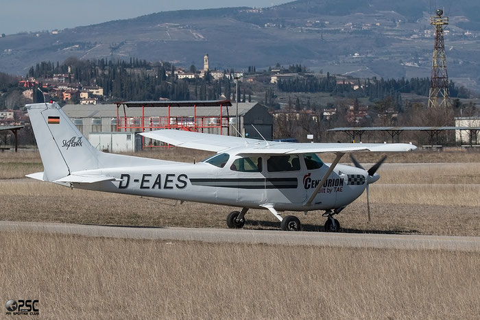 D-EAES Cessna 172N Skyhawk @ Aeroporto Verona Boscomantico © Piti Spotter Club Verona