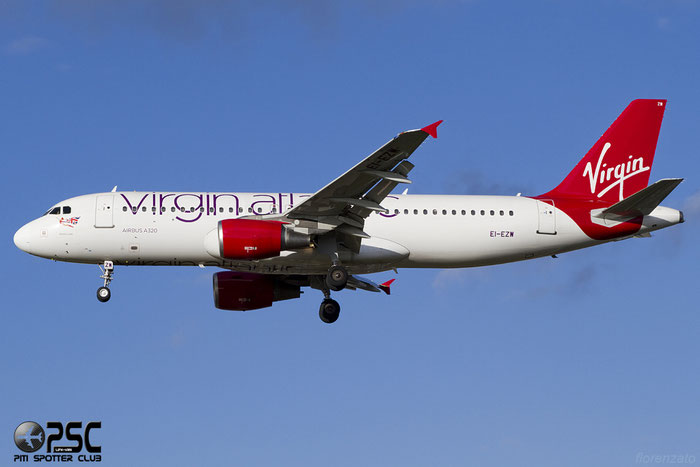 EI-EZW A320-214 1983 Virgin Atlantic Airways @ London Heathrow Airport 07.02.2014 © Piti Spotter Club Verona