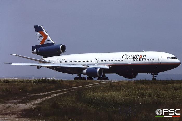 C-GCPJ DC-10-30 46991/261 Canadian Airlines International © 2018 courtesy of Marco Ceschi - Piti Spotter Club Verona