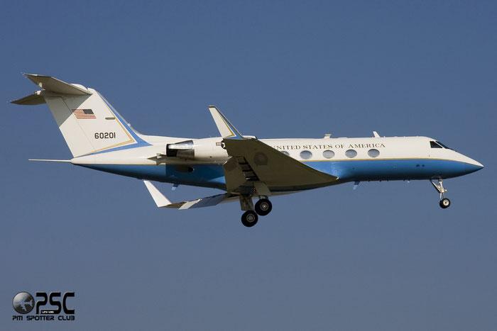 United States - US Air Force (USAF) - Gulfstream C-20B - 86-0201 @ Aeroporto di Verona © Piti Spotter Club Verona