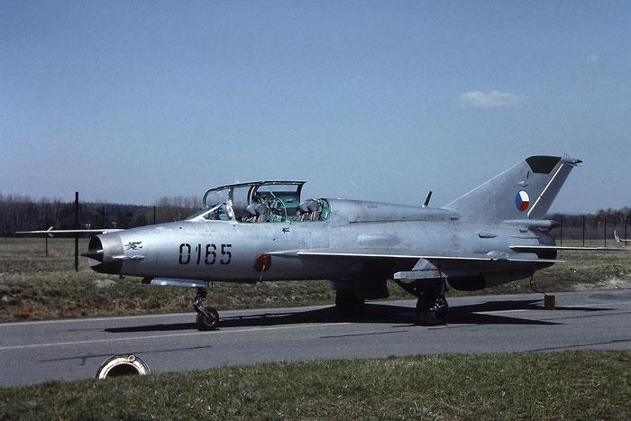 0165   MiG-21UM  01695165 © Piti Spotter Club Verona