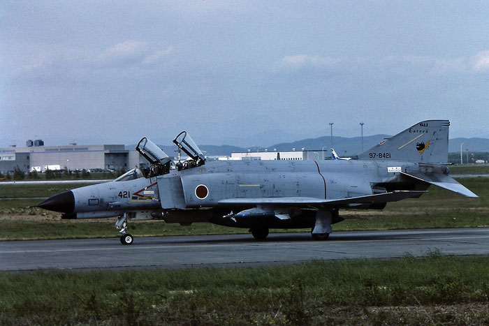 97-8421   F-4EJ Kai  M121  Sanmu-chi © Piti Spotter Club Verona
