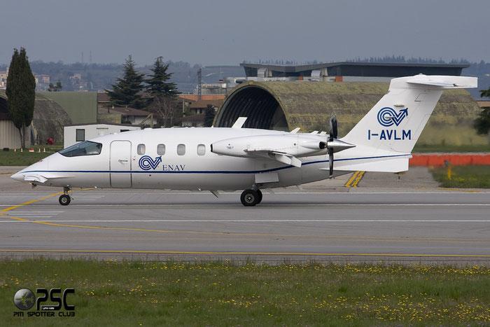 I-AVLM - Italy - Ente Nazionale Assistenza al Volo (ENAV) Piaggio P-180 Avanti II - I-AVLM @ Aeroporto di Verona © Piti Spotter Club Verona