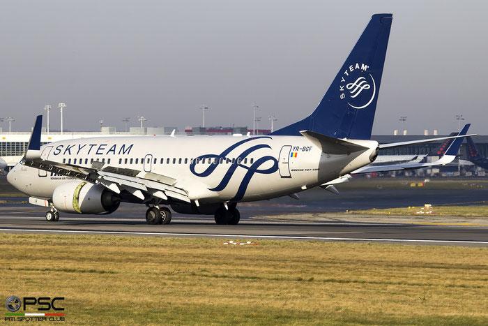 YR-BGF B737-78J 28440/795 TAROM - Transporturile Aeriene Romane @ Bruxelles Airport 14.03.2018 © Piti Spotter Club Verona