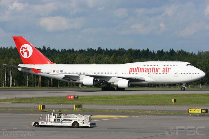 EC-KQC B747-412 26549/1030 Pullmantur Air @ Helsinki Airport 2008 © Piti Spotter Club Verona