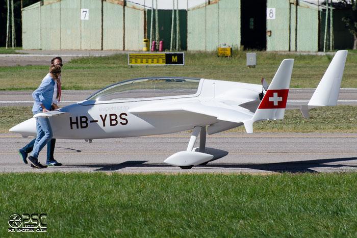 HB-YBS Rutan VariEze VEZE 1924 @ Aeroporto di Bolzano © Piti Spotter Club Verona