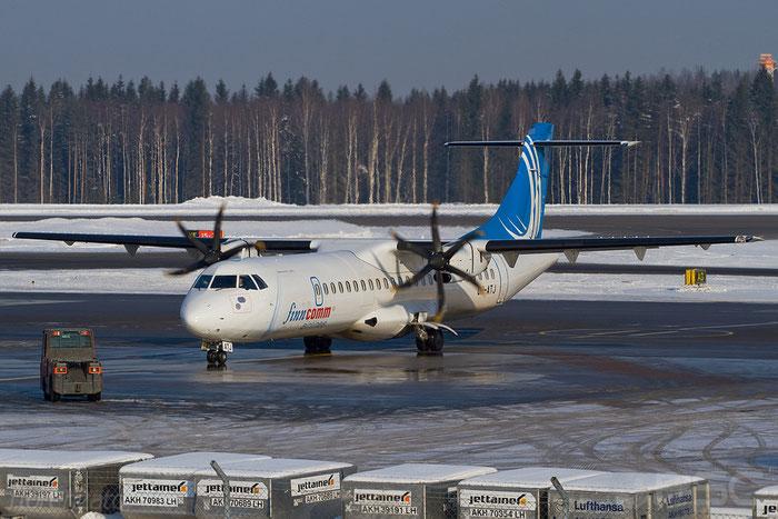 OH-ATJ ATR72-212A 792 FinnComm Airlines @ Helsinki Airport 2008 © Piti Spotter Club Verona