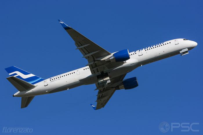 OH-LBV B757-2Q8 30046/1006 Finnair @ Helsinki Airport 2008 © Piti Spotter Club Verona