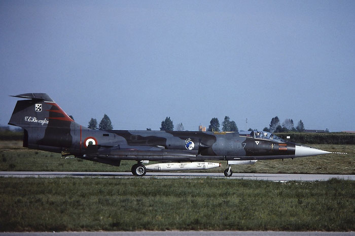 Gli F-104 del Terzo Stormo: 3-07 -  @ Aeroporto di Verona   © Piti Spotter Club Verona